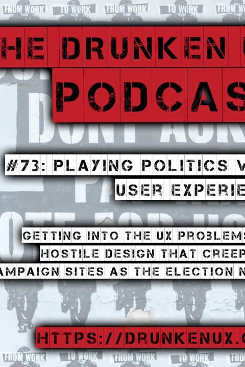 #73: Playing Politics with User Experience