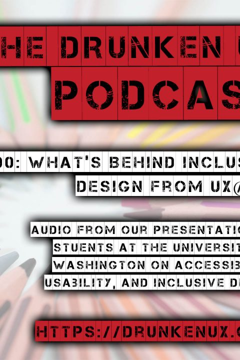 #90: What's Behind Inclusive Design from UX@UW