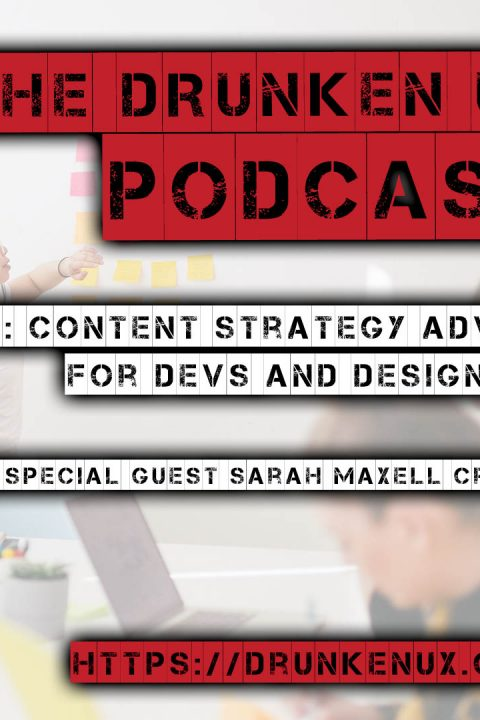 #96: Content Strategy Advice for Devs and Designers w/ special guest Sarah Maxell Crosby